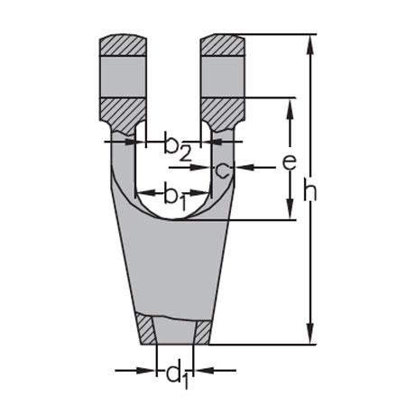 open wedge socket